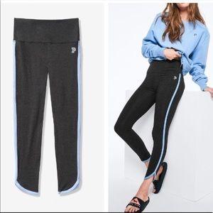 NWOT | VS PINK Curved Hem Stripe 7/8 Legging